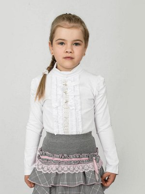 Пристрою нарядную белую блузку