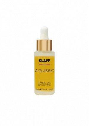 Масло для лица с ретинолом  A CLASSIC Facial Oil with Retinol