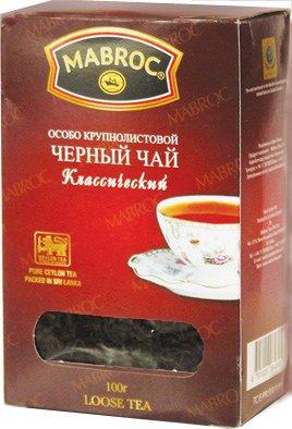 Чай Маброк Особо Крупнолистовой Классический 100 г