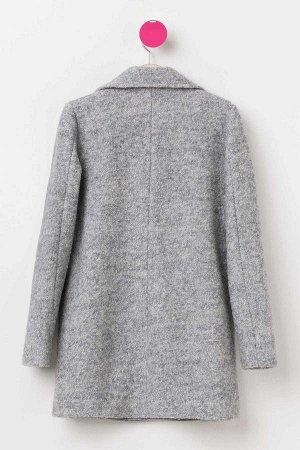 Пальто %70 Polyester %30 Yn (шерсть) Очень хорошее теплое пальто, в составе 30% шерсти, утеплено флисом. Супер удачная модель, посадка на ребенка среднего телосложения свободная