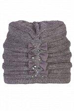 Жасмин шапка цвет:темно серый