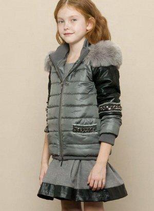Куртка Fracomina mini Куртка утепленная на синтепоне (холодная осень, начало зимы)