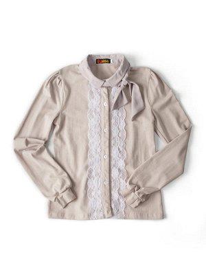 Нарядная, элегантная блузка в школу.