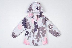 куртка Куртка демисезонная для девочки, мембранный материал,утеплитель холлофайбер Shelter 200 гр/м2. Воздухопроницаемость 3000 г/м2/24 ч . Водонепроницаемость 3000 мм/24 ч. Подкладка флис, капюшон от