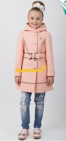 Интересное пальтишко для юной модницы