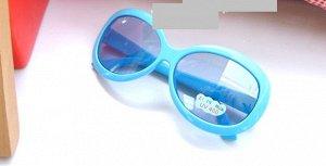 Солнцезащитные очки детские голубые