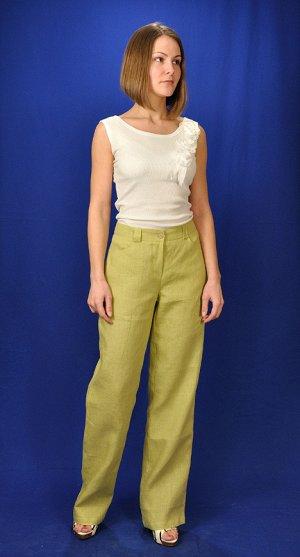 Женские брюки из 100% льна. Цена ниже закупки!!!