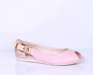 Новые летние туфли, Инарио, р. 39 на 25,5-26 см, на узкую или среднюю ногу.