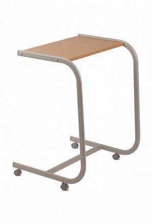 Стол 700x490x400 (Ш). Подкатной столик разработан для тех, кто ценит комфорт и простоту обращения. Не замысловатая конструкция продуманна до мелочей. Прочная  дугообразная опора не сгибается, что позв