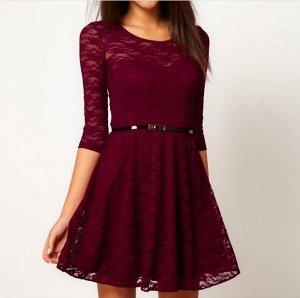 Симпатичное платье на весну