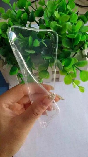Чехол силикон прозрачный тонкий Xiaomi redmi