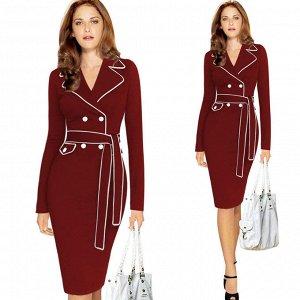 Повседневное стильное платье