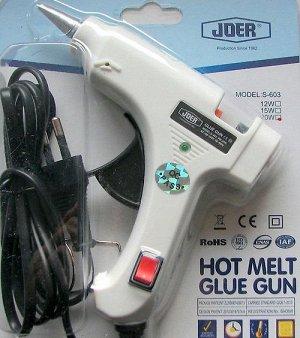 Пистолет для горячего клея (0,5 см). 20 Вт. Синий