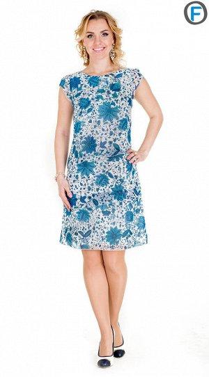 Платье Расцветка платья в доп.фото.  100% полиэстер;; Длина 44-46 96см;
