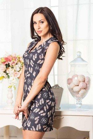 Платье Состав: джинс (85% котон, 15% эластан).  44: Длина 80 см, ОГ 78 см, ОТ 68 см, ОБ 86 см. 46: длина 86 см, ОГ 88 см, ОТ 74 см, ОБ 90 см.  Имеет небольшой складской запах, при стирке уходит