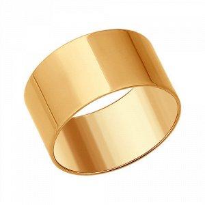 Кольцо Соколов серебряное позолоченное