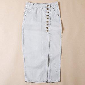Отличная джинсовая юбка по смешной цене))