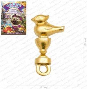 Кошельковый Чижик-Пыжик На исполнения желаний, цвет золото