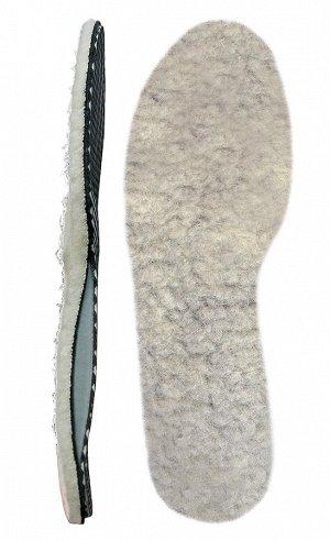 ортопедические меховые стельки на 22,5 см