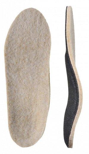 Детские ортопедические стельки с покрытиемиз натуральной шерсти (уп. пара)