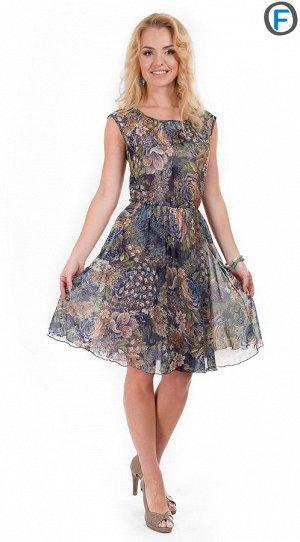 Платье из ШИФОНа тоненькое на 46-48 от хорошей закупки