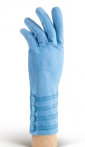 Красивые велюровые перчатки на осень.