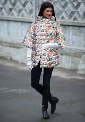 Дизайнерская куртка демисезон Натальи Палагиной (бренд ДушеГрея)