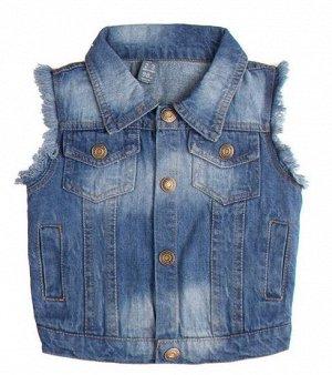 Жилет джинсовый для девочки Zara kids