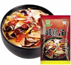 Кисло острый суп с грибами быстрого приготовления