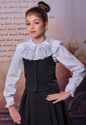Блузка школьная, Россия, хлопок. Рост 146-152