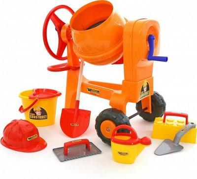 Полесье. Любимые игрушки из пластика. Успеем до повышения — Каменщик — Игровые наборы