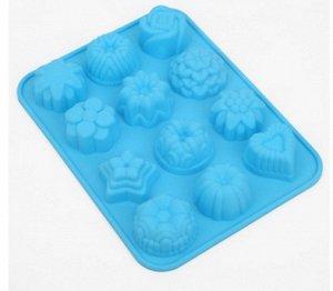 Силиконовая форма для выпечки, конфет, халвы, мармелада и др.Есть 2 шт.