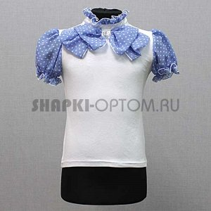 Блуза в школу, нарядная, красота, Польша на рост 122-128