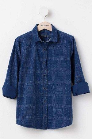 Стильная рубашка на рост 152-160