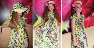 Платье +панамка