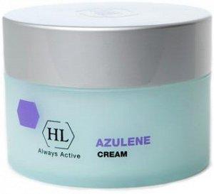 Распил Питательный крем AZULEN cream. Классический увлажняющий и смягчающий крем с успокаивающим и легким антикуперозным эффектом. Вариант с более плотной текстурой.