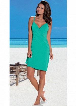 пляжное платье, красивый цвет и фактура ткани