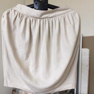 Юбка фонарик с карманами лен