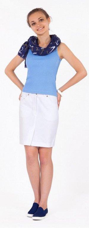 белая юбка на лето р-р 44-46
