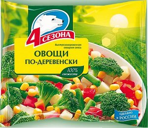 "Овощи по-деревенски ""4 сезона""  400г"