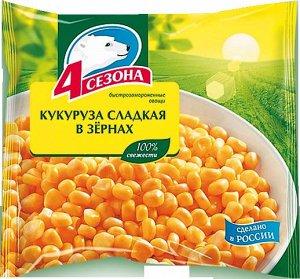 """Кукуруза сладкая """"4 сезона""""  400г"""