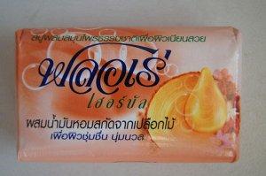 "LION ""Flore"" Мыло травяное 80гр Масло сандалового дерева,1шт  Таиланд"