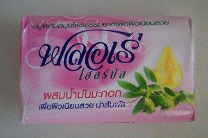 "LION ""Flore"" Мыло травяное 80гр Оливковое масло,1шт  Таиланд"