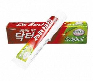 "CJ LION ""Dr. Sedoc"" Зубная паста Масло чайного дерева 140гр против бактерий"