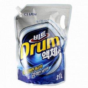 "CJ LION Ср-во д/стирки жид. ""Beat Drum"" 2000мл автомат (мягкая упак.)"