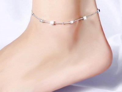 Серебряная сказка-58❀Новинки 2021❀ Серебро,украшения — Браслеты на ногу — Бижутерия