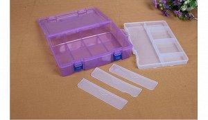 Коробка для хранения мелочей с вынимающимся отделением