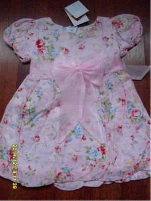 Платье с цветочками