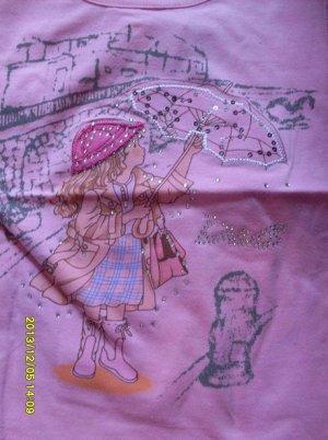 Кофточка с девочкой с зонтиком (два цвета!)