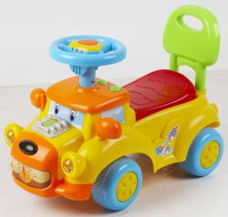 Автомобиль для катания детей (толокар) 554 (желтый)